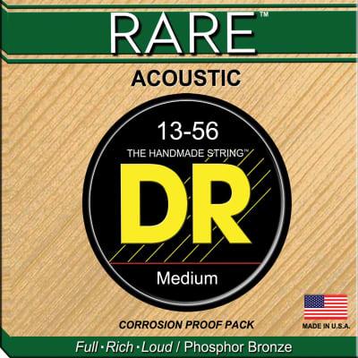 DR Rare RPMH-13 Phosphor Bronze Acoustic Guitar Strings MED/Heavy 13-56  Standard