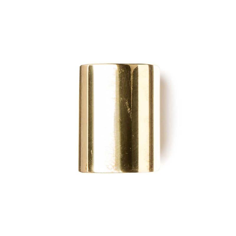 Dunlop 223 Medium Brass Knuckle Slide Medium Wall