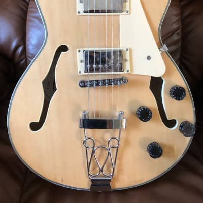 K Tone Electric Hollowbody  Natural for sale