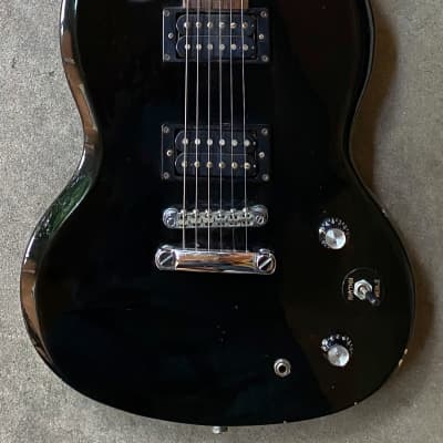 2001 Epiphone SG Bully Electric Guitar Black HH for sale