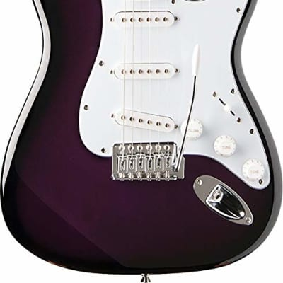 Oscar Schmidt  Double Cutaway Electric Guitar, Purple, OS-300 PS for sale