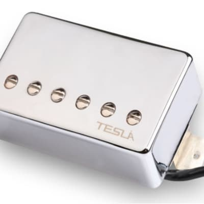 Tesla VR-NITRO Humbucker Guitar Pickup - Neck / Chrome