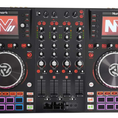 Numark NVII Intelligent Dual-Display Serato DJ Controller 4-Channel, USB