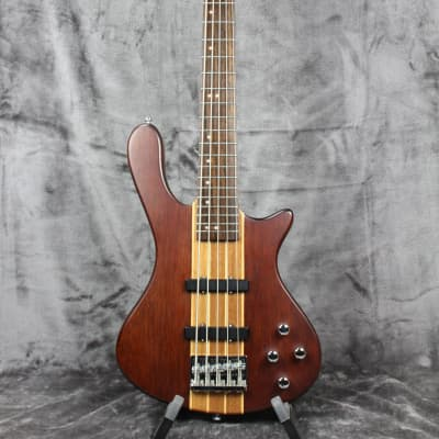 Washburn T-25 Taurus 5-String Bass w/ Gig Bag Natural Matte for sale
