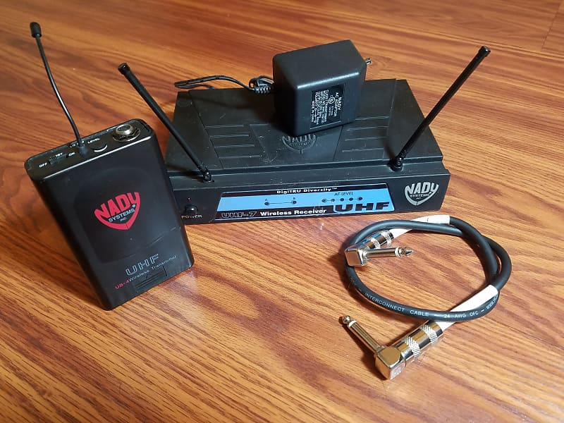 nady uhf wireless guitar system dillon 39 s gear garage reverb. Black Bedroom Furniture Sets. Home Design Ideas