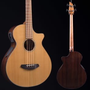 Breedlove Solo Jumbo Bass CE Red Cedar/East Indian Rosewood with Electronics Natural