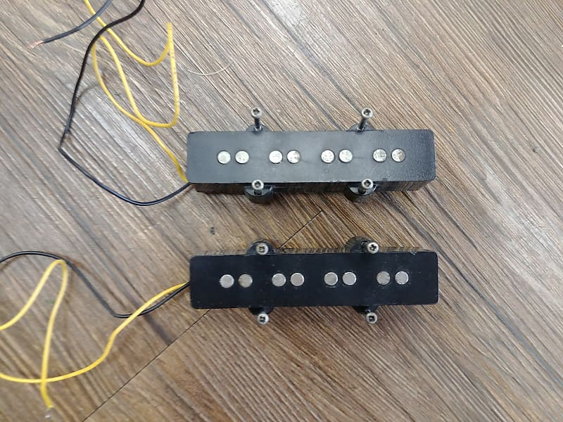 jazz bass style replacement pickup set dc music store reverb. Black Bedroom Furniture Sets. Home Design Ideas