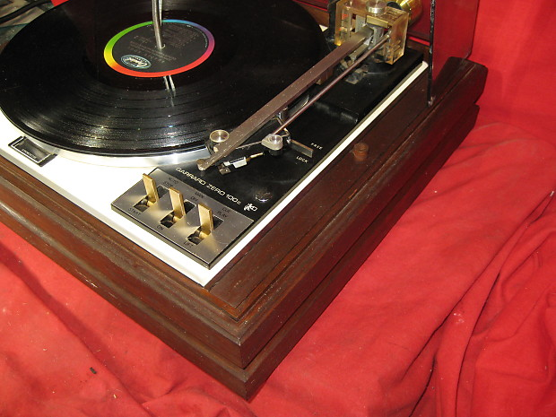 Vintage Garrard Zero 100c Fully Automatic Record Changer Turntable SERVICED!