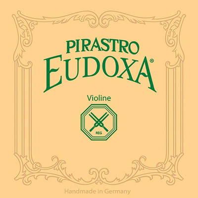 Pirastro Pirastro Eudoxa 4/4 Violin D String - 17 Gauge - Aluminum-Gut - Gutknot-End