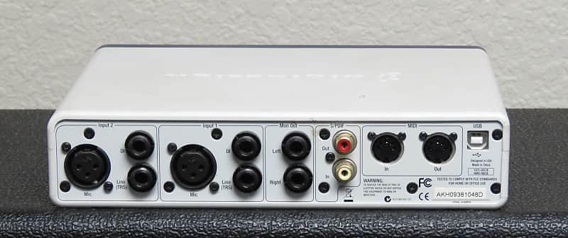 Digidesign Mbox 2 Usb Audio Midi Interface Gear Closet Reverb