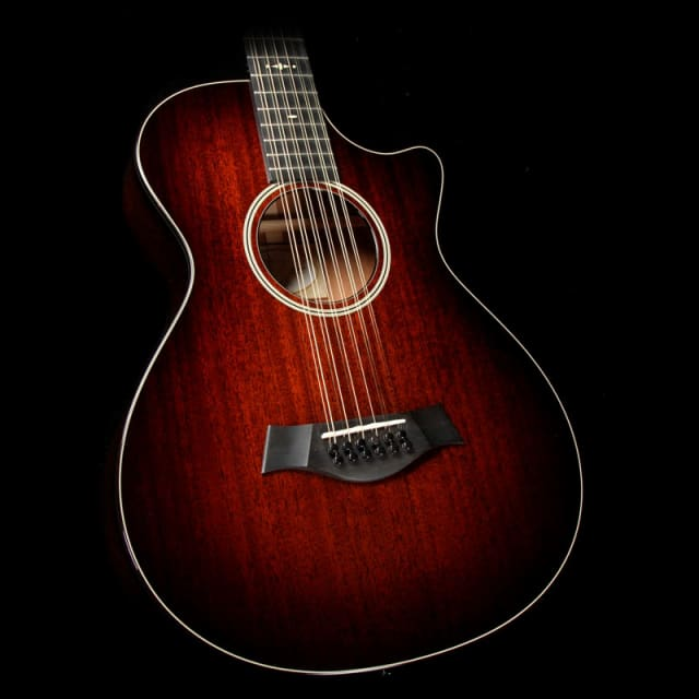 Used 2016 Taylor 562ce 12-Fret GA 12-String Acoustic-Electric Guitar Shaded Edgeburst image