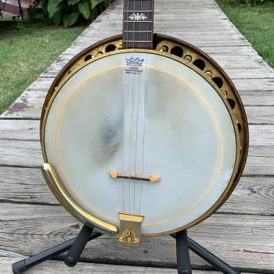 c. 20's Paramount Style F Tenor Banjo by William Lang for sale