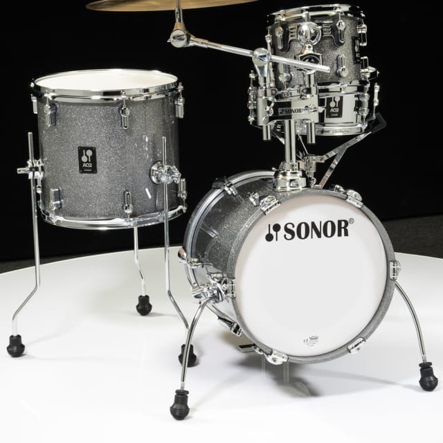 Sonor AQ2 Maple Martini Kit 4pc Shell Pack - Titanium Quartz Lacquer image