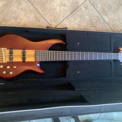 Vantage 960BA  6 string thru neck Bass for sale