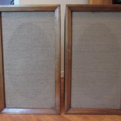 Altec Lansing 601C coaxial drivers in Wharfedale cabinets in very good condition