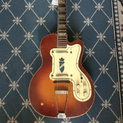 Silvertone Jimmy Reed Electric Guitar 1959 Tobacco Burst for sale
