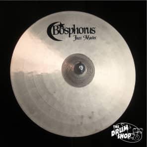 "Bosphorus 19"" Jazz Master Series Ride Cymbal"