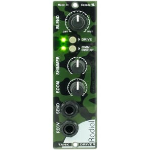 Radial Tank Driver 500 Series Spring Reverb Interface Module