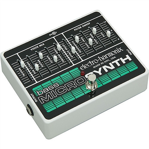 electro harmonix bass microsynth effects pedal la music reverb. Black Bedroom Furniture Sets. Home Design Ideas