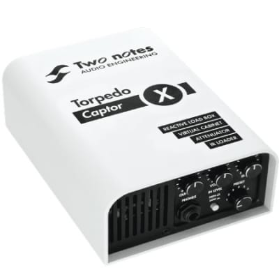Two Notes Torpedo Captor X Reactive Loadbox DI and Attenuator