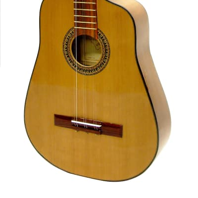 Paracho Elite Guitars Havana Cuban Tres Solid Cedar Top Natural for sale