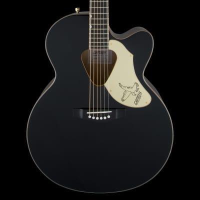 Gretsch G5022CBFE Rancher Falcon Jumbo Cutaway Acoustic Electric - Black (178) for sale