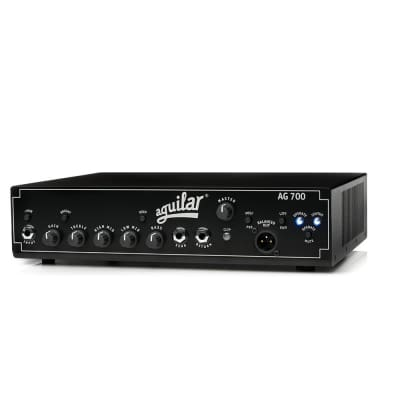 Aguilar AG-700 700W Bass Guitar Solid State Single Channel Amplifier Amp Head