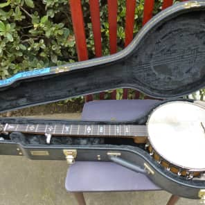 Orpheum Number 1 Original 5 String Banjo - New Fingerboard, Fantastic Tone for sale