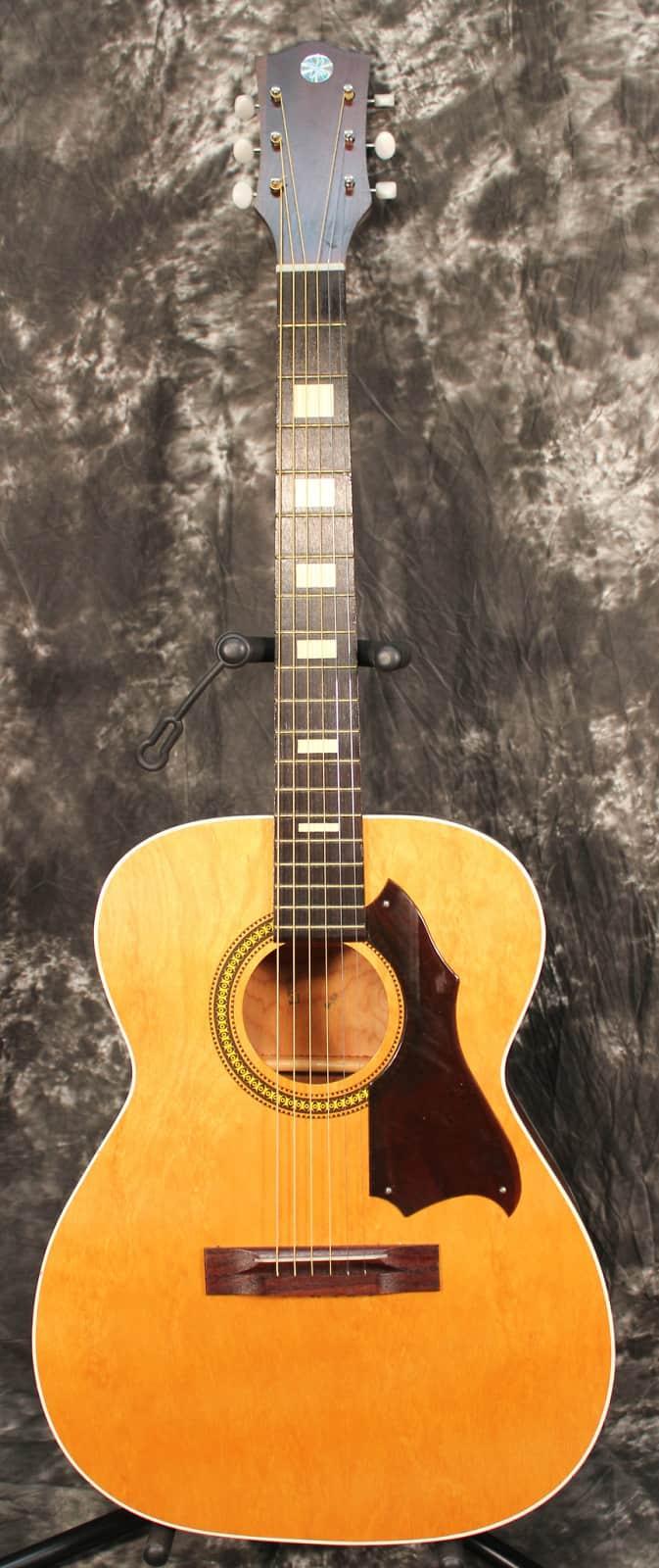 1960 S Silvertone F70 Model 319 1212000 Acoustic Guitar