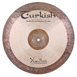 "Turkish Cymbals 16"" Jazz Series Xanthos Jazz Crash XJ-C16"