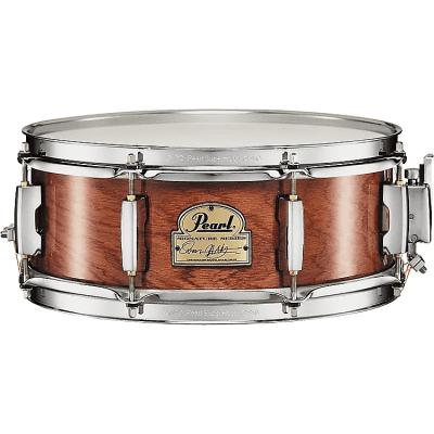 "Pearl 13x5"" Omar Hakim Signature Snare Drum African Mahogany"