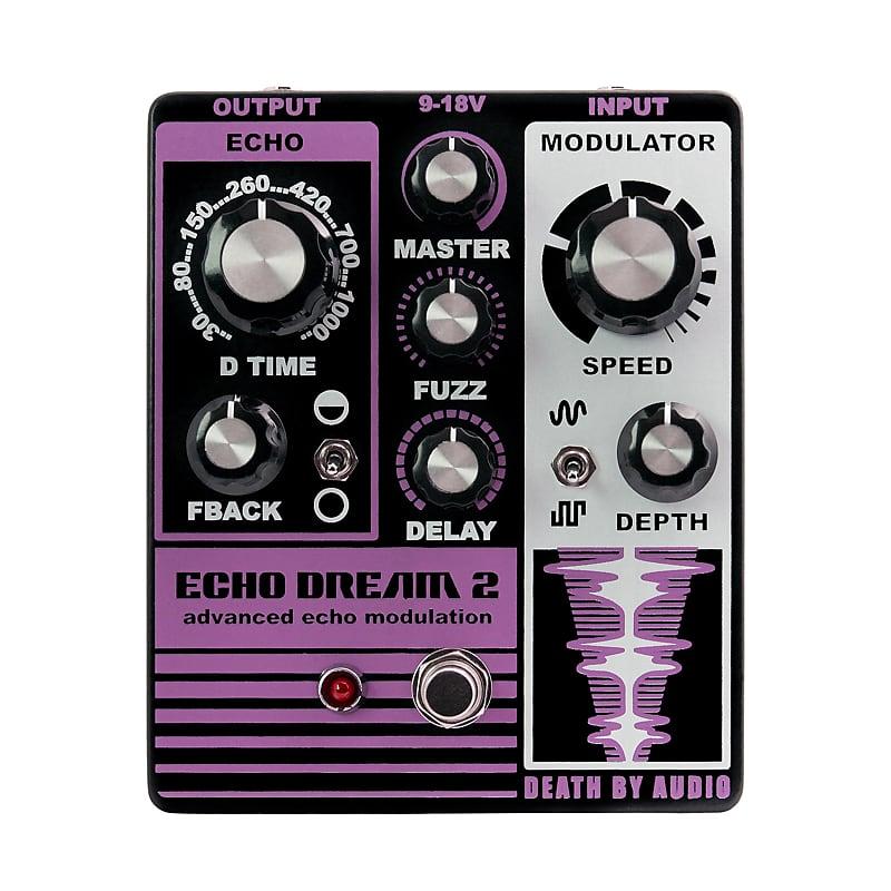 Death By Audio DBA Echo Dream 2 Modulation / Delay Effects Pedal