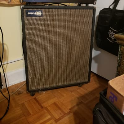 Sunn Sunn Concert Lead and Matching 2x12 With EVM 12Ls Electro Voice Emperor Fender Peavey doom for sale