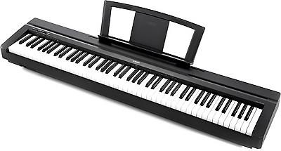 lightly used 88 key yamaha p35 reverb. Black Bedroom Furniture Sets. Home Design Ideas