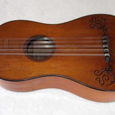 Rare and Vintage 1765 Dietrich Stork (Strasbourg, France) Baroque 5-Course Guitar w/Original Label! for sale