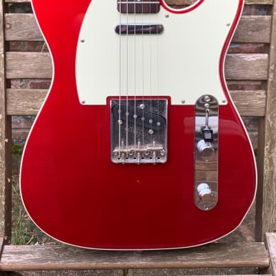 Fender '62 Telecaster Custom Bound Edge 1997 Candy Apple Red for sale