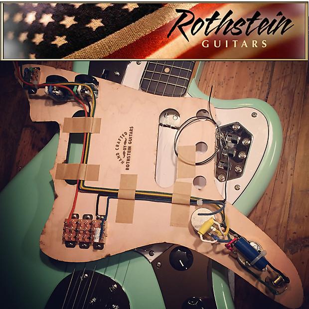 Superb New Rothstein Prewired Fender Jaguar Wiring 1962 Vintage Reverb Wiring Database Pengheclesi4X4Andersnl