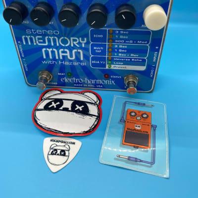 Electro-Harmonix Memory Man Stereo with Hazarai | Digital Delay/Looper | Fast Shipping!