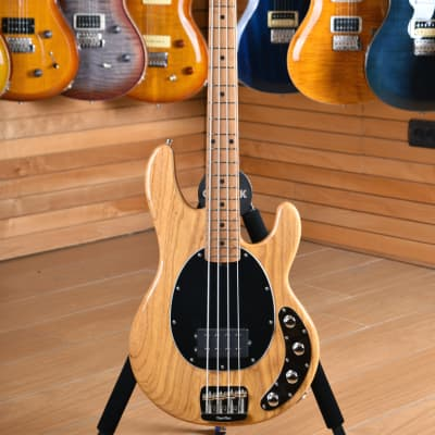 Music Man Sting Ray Special H Classic Natural Roasted Maple Maple Fingerboard for sale