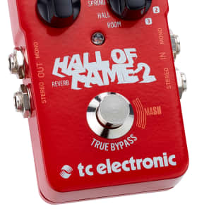 TC Electronic Hall of Fame 2 Reverb Effect Pedal w/ Mash for sale