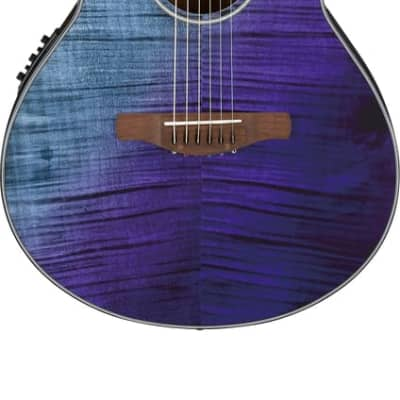 Ibanez AEWC32FMPSF Acoustic/Electric Guitar *Purple Sunset Fade High Gloss*