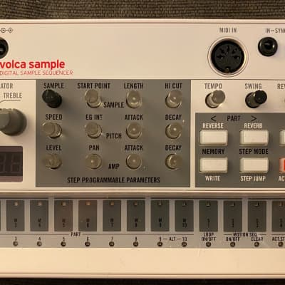 Korg Volca Sample Digital Sampler & Sequencer