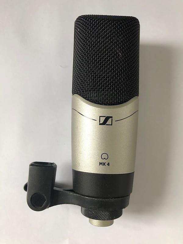 sennheiser mk 4 cardioid condenser microphone metric reverb. Black Bedroom Furniture Sets. Home Design Ideas