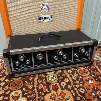 Vintage 1970s SG Systems CMI Gibson 100w KT88 6550 Valve Amplifier Head for sale