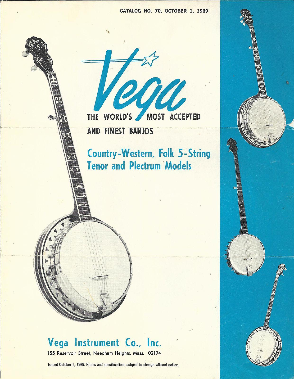 Vega-Catalog, 1969