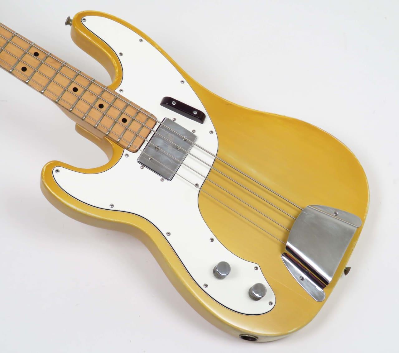 fender telecaster bass 1975 blonde refin left handed reverb. Black Bedroom Furniture Sets. Home Design Ideas