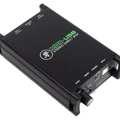 Mackie MDB-USB Stereo USB Direct Box DI Box For PC