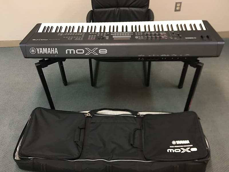 Yamaha MOX8 88-Key Synthesizer Workstation | Reverb