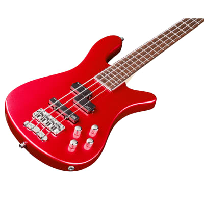 Warwick RockBass Streamer LX 4-String Bass, Metallic Red High Polish