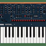 Korg Monologue Monophonic Analog Synthesizer Blue